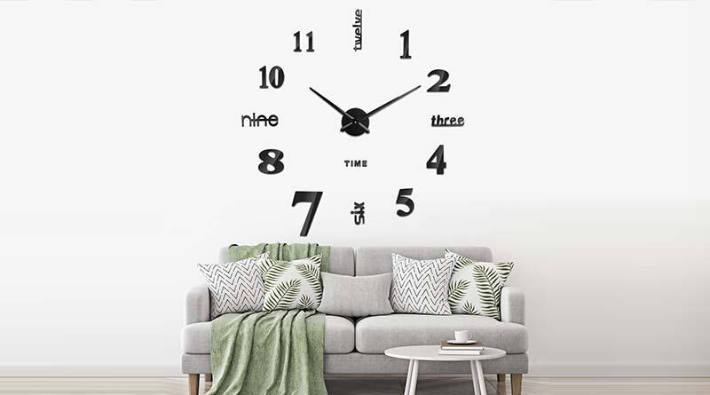 Orologio da parete adesivo componibile